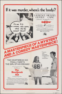 The Heartbreak Kid/Sleuth Combo & Other Lot (20th Century Fox, R-1973). Folded, Fine/Very Fine. One Sheets (5) (27&q...