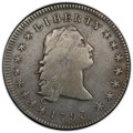 Early Dollars, 1795 $1 Flowing Hair, Three Leaves -- Altered Surfaces -- PCGS Genuine. VF Details. Mintage 160,295. ...