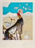 Prints & Multiples, Salvador Dali (Spanish, 1904-1989). The Earth Goddess, 1980. Lithograph in colors on Arches paper. 2...