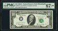 Fr. 2017-C $10 1963A Federal Reserve Note. PMG Superb Gem Unc 67 EPQ*