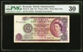 World Currency, Bermuda Bermuda Government 10 Pounds 28.7.1964 Pick 22 PMG Very Fine 30.. ...