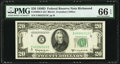 Fr. 2063-E $20 1950D Federal Reserve Note. PMG Gem Uncirculated 66 EPQ