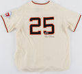 Autographs:Jerseys, 2001 Barry Bonds Signed San Francisco Giants Replica Jerse...