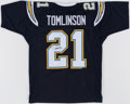 Autographs:Jerseys, LaDainian Tomlinson Signed San Diego Chargers Jersey. ...