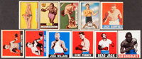 1948 Leaf and 1951 Topps Ringside Boxing Collection (47)