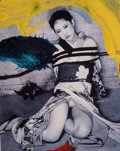 Photographs, Nobuyoshi Araki (b. 1940). Lewd Painting, 2011. Digital RP direct print in colors. 22 x 18 inches (55.9 x 45.7 cm) (shee...