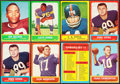 Football Cards:Lots, 1963 Topps Football Collection (113)....