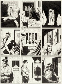 Brian Bolland Batman: The Killing Joke Story Page 2 Original Art (DC, 1988)