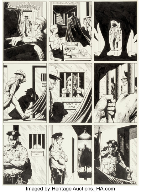 Brian Bolland Batman: The Killing Joke Story Page 2 Original Art (DC, 1988)....