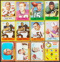 Football Cards:Lots, 1966 Topps and 1967 Philadelphia Football Collection (410). ...