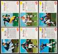 Football Cards:Lots, 1961 Post Cereal Football Collection (57)....