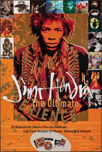 "Jimi Hendrix: The Ultimate Experience (MCA, 1993). Rolled, Very Fine-. Album Poster (24"" X 36""). Rock and Roll..."
