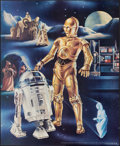 """Movie Posters:Science Fiction, Star Wars (Proctor and Gamble, 1978). Rolled, Very Fine+. Promo Poster Set of 3 (18.5"""" X 22.75"""") Ken Goldammer Artwork. Scie... (Total: 3 Items)"""