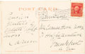 Music Memorabilia:Autographs and Signed Items, Enrico Caruso Signed and Inscribed Postcard....