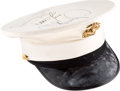 Music Memorabilia:Autographs and Signed Items, Whitney Houston Signed United States Marine Cap Worn During the HBO Special Welcome Home Heroes, 1991....