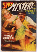 Pulps:Horror, Spicy Mystery Stories - February 1939 (Culture) Condition: VG-....