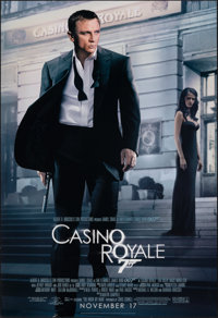 """Casino Royale (MGM, 2006). Rolled, Very Fine-. One Sheet (26.75"""" X 39.75"""") DS Advance. James Bond"""