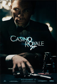 """Casino Royale (MGM, 2006). Rolled, Very Fine. One Sheet (26.75"""" X 39.75"""") DS Advance. James Bond"""