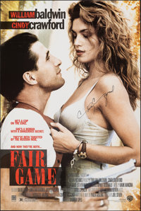 "Fair Game & Other Lot (Warner Bros., 1995). Rolled, Very Fine-. Autographed One Sheet & One Sheet (27"" X 40..."