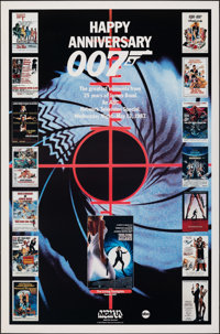 """Happy Anniversary 007: 25 Years of James Bond (MGM/UA, 1987). Rolled, Very Fine. Television One Sheet (27"""" X 41&quo..."""