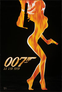 """The World is Not Enough (MGM, 1999). Rolled, Fine/Very Fine. One Sheet (27"""" X 40"""") DS Advance. James Bond"""