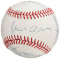 Autographs:Baseballs, 500 Home Run Club Multi-Signed Baseball. Offered ...