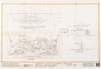 McDonald's Playground/Dining Room Attractions Architectural Drawings Group of 3 (Setmakers, Inc., 1972-73).... (Total: 3...