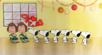 Peanuts The Charlie Brown and Snoopy Show Snoopy and Peppermint Patty Sequence of 10 Production Cels and Group of ... (T...