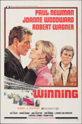 """Movie Posters:Sports, Winning & Other Lot (Universal, 1969). Folded, Fine/Very Fine. One Sheets (2) (27"""" X 41""""). Howard Terpning Artwork. Sports.... (Total: 2 Items)"""