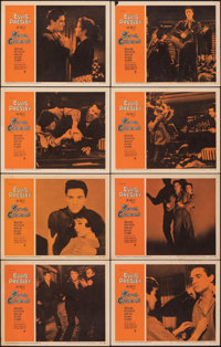 """King Creole (Paramount, 1958). Fine/Very Fine. Lobby Card Set of 8 (11"""" X 14""""). Elvis Presley. ... (Total: 8 I..."""