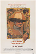 """Movie Posters:Western, The Shootist (Paramount, 1976). Very Fine- on Linen. One Sheet (27"""" X 41.25""""). Richard Amsel Artwork. Western.. ..."""