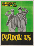 """Movie Posters:Comedy, Pardon Us (MGM, R-1960s). Folded, Very Fine. Indian Poster (30"""" X 40""""). Comedy.. ..."""