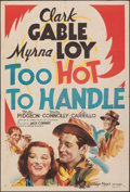 """Movie Posters:Comedy, Too Hot to Handle (MGM, 1938). Folded, Fine/Very Fine. Australian One Sheet (27"""" X 40""""). Comedy.. ..."""