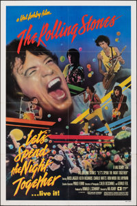 "Let's Spend the Night Together (Embassy, 1983). Folded, Very Fine. One Sheet (27"" X 41""). Rock and Roll"