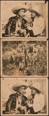 The Crimson Skull & Other Lot (Norman, 1922). Overall: Very Good. Lobby Cards (7) & Title Lobby Cards (3) (11&qu...