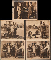 """The Flying Ace (Norman, 1926). Overall: Very Good. Lobby Cards (4) (11"""" X 14""""), Trimmed Lobby Card (11"""" X..."""