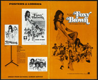 """Foxy Brown & Other Lot (American International, 1974). Very Fine. Uncut Pressbooks (2) (16 Pages, 8.5"""" X 14&quo..."""