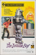 """The Invisible Boy (MGM, R-1973). Folded, Very Fine. One Sheet (27"""" X 41""""). John Solie Artwork. Science Fiction..."""