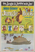 Movie Posters:Animation, The Jungle Book (Greater Union, R-1982). Folded, Very Fine...