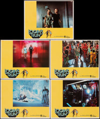 "Logan's Run & Other Lot (MGM, 1976). Fine/Very Fine. International Lobby Cards (5) (11"" X 14"") & Austr..."