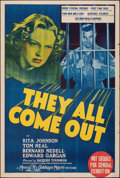 """Movie Posters:Drama, They All Come Out (MGM, 1939). Folded, Fine+. Australian One Sheet (27"""" X 40""""). Drama.. ..."""