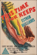 """Movie Posters:Musical, This Time for Keeps (MGM, 1947). Folded, Very Fine-. Australian One Sheet (27"""" X 40""""). Musical.. ..."""
