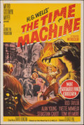 """Movie Posters:Science Fiction, The Time Machine (MGM, 1960). Folded, Very Fine-. Australian One Sheet (27"""" X 40""""). Science Fiction.. ..."""