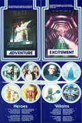"""Movie Posters:Science Fiction, Star Wars (20th Century Fox, 1977). Very Fine+ on Linen. Full-Bleed Marler Haley British Double Crowns (4) (20"""" X 30"""").. ... (Total: 4 Items)"""