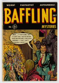 Baffling Mysteries #16 (Ace, 1953) Condition: VG+