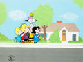 Animation Art:Production Cel, Peanuts Snoopy Come Home Multi-Character Production Cel Setup (Bill Melendez, 1972)....