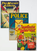 Golden Age (1938-1955):Superhero, Golden Age Superhero Comics Group of 5 (Various Publishers, 1940s-50s) Condition: Average VG+.... (Total: 5 Comic Books)