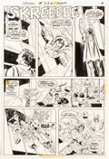 Original Comic Art:Panel Pages, Curt Swan and Murphy Anderson Superman #262 Story Page 8 Original Art (DC, 1973)....