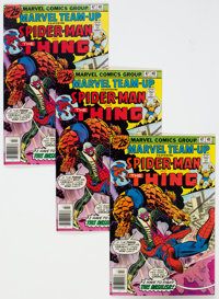 Marvel Team-Up #47 Spider-Man and the Thing - Box Lot (Marvel, 1976) Condition: Average VF/NM