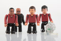 Collectible, Kubrick X Nike. Nike Secret Tournament, set of five, 2002. Painted cast resin. 2-1/2 x 1-1/4 inches (6.4 x 3.2 cm) (each...